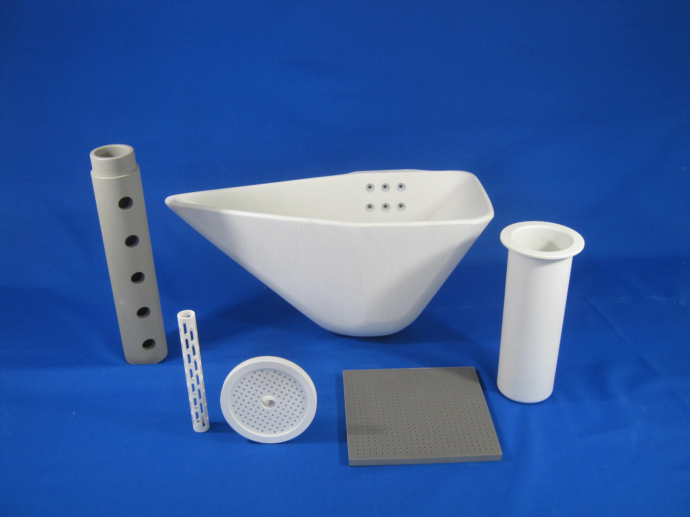 Aluminum titanate CIP product (ladle, firing jig)