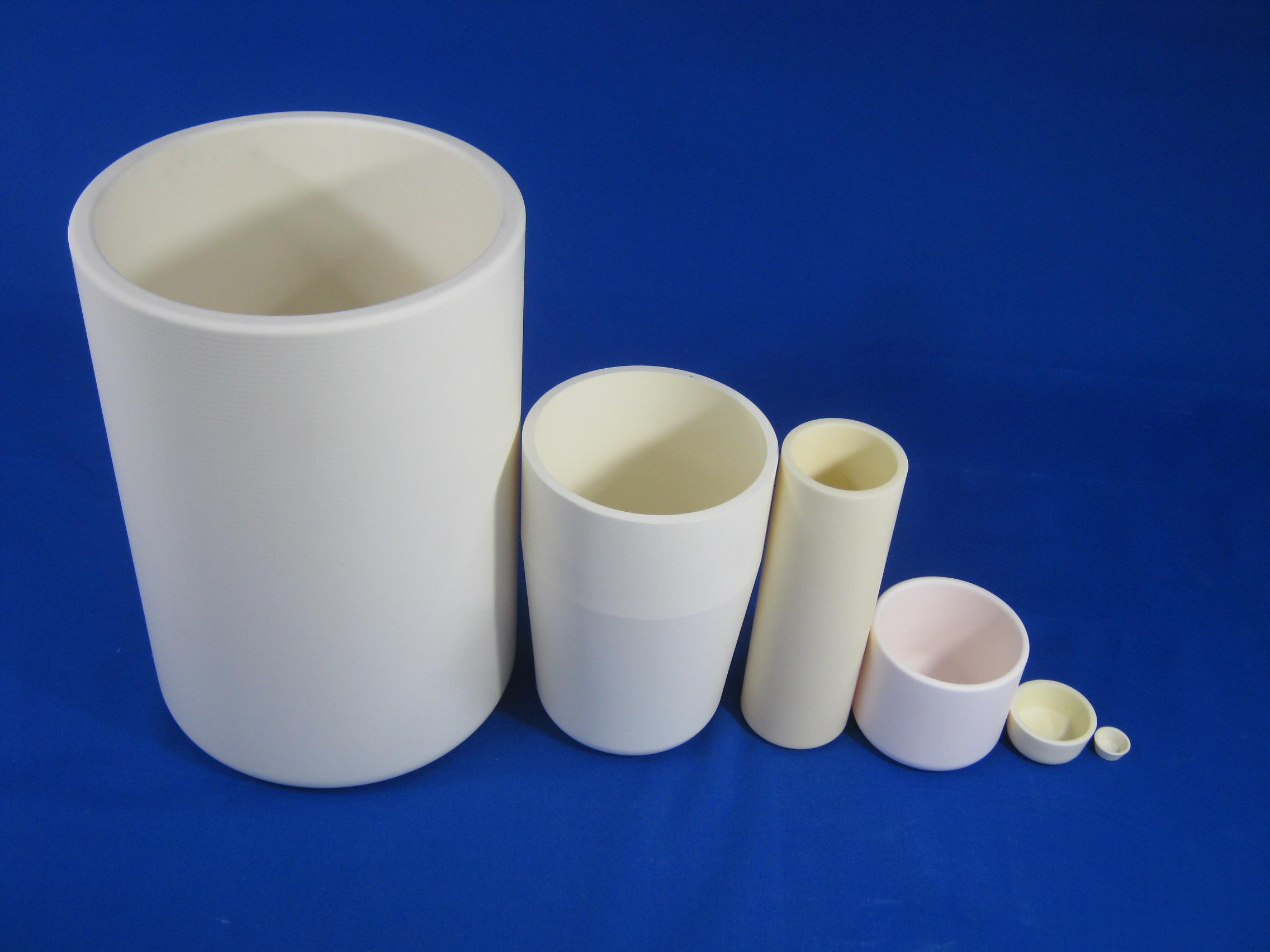 Alumina CIP product (crucible)