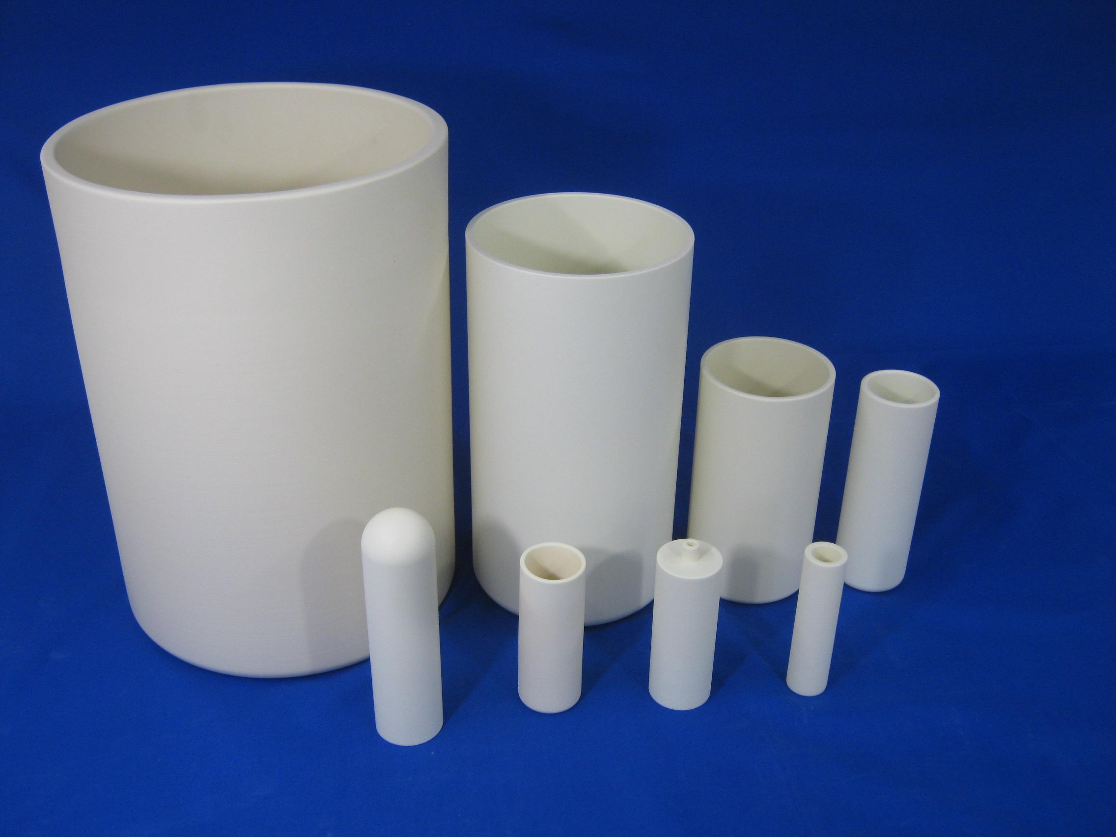 Magnesia CIP product (crucible)