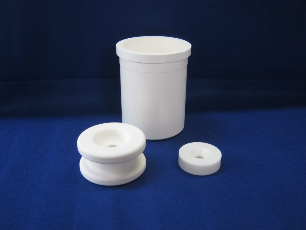 Production of CIP molded product of alumina zirconia is now possible.